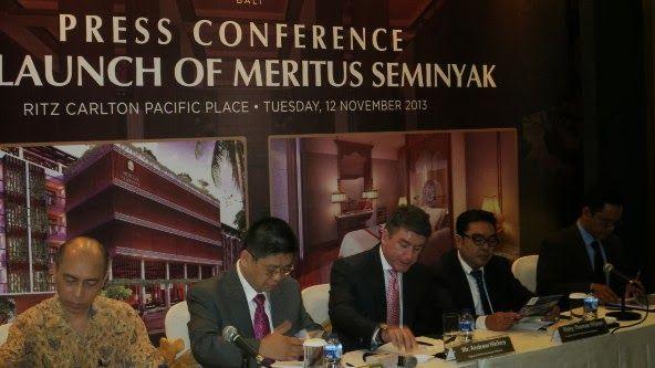 Press Conference Meritus Seminyak Bali www.madepropertybali.com
