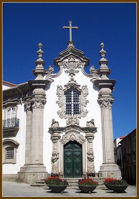 #Portugal - Viana do Castelo, Chapel of the Malheiras by amaianos