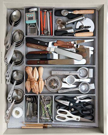 kitchen drawer organization: Organizations Drawers, Organizations Ideas, Kitchens Utensils, Kitchens Drawers, Martha Stewart, Organizations Kitchens, Kitchens Tools, Drawers Organizations, Kitchens Organizations