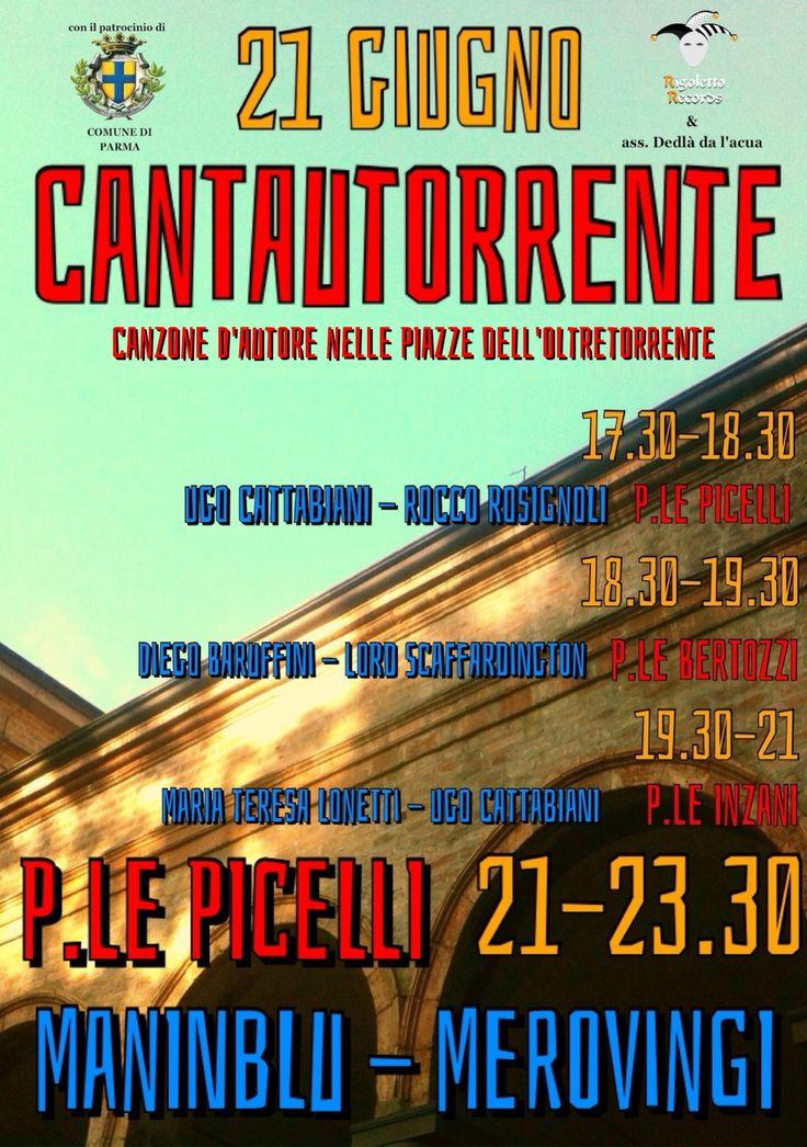 Live @ Cantautorrente (Parma) - Rocco Rosignoli