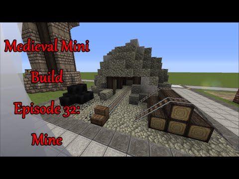 Minecraft-Medieval Mini Build Episode 32: Mine Entrance | Minecraft