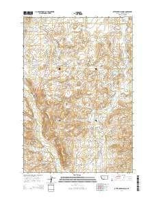 ~ Otter Creek School MT topo map, 1:24000 scale, 7.5 X 7.5 Minute, Current, 2014