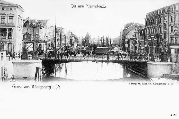 Königsberg Pr.   Die neue Krämerbrücke            1912