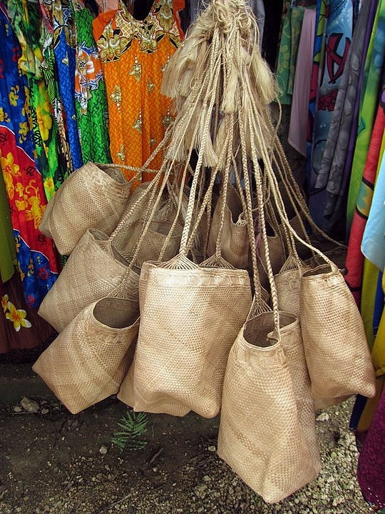 #Traditional Baskets, Port Vila, Vanuatu  #Travel Vanuatu - We cover the world over 220 countries, 26 languages and 120 currencies Hotel and Flight deals.guarantee the best price multicityworldtravel.com