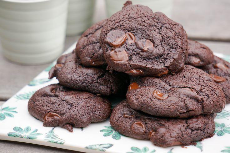 Wij gaan op vakantie en nemen mee? Mexicaanse Dubbele Chocolate Chip Cookies. Okay niet helemaal waar maar wel lekker voor de voorpret!