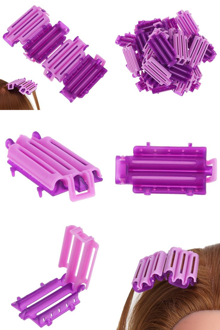 [Visit to Buy] 45pcs/set Creative Magic Hair Clips Clamps Perm Rod Curlers Rollers Wavy Hair Maker Curling Spiral Curler Hair Styling DIY Tools #Advertisement