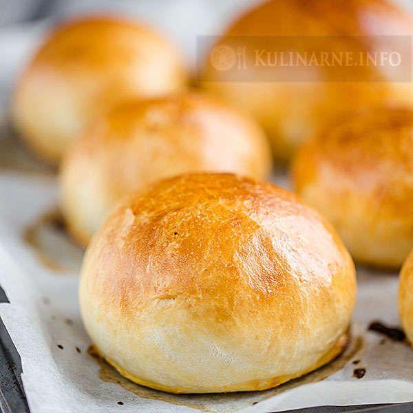 Łatwe bułki do hamburgerów | Przepisy kulinarne ze zdjęciami