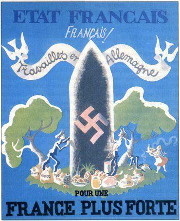 Affiche française du gouvernement de Vichy, 1943