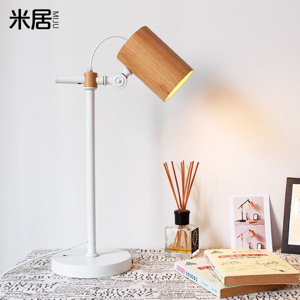 Мода как искусство современной минималистской спальни лампа Северной Европы журналы творческих искусств во главе теплой спальне прикроватные освещение