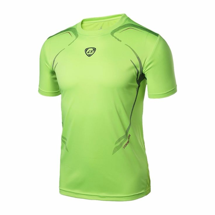 5.55$  Watch here - LUCKY SAILING Men Designer Quick Dry T-Shirts Camisetas Running Shirt Slim Fit Tops Tees Sport Men 's Running T Shirts   #SHOPPING