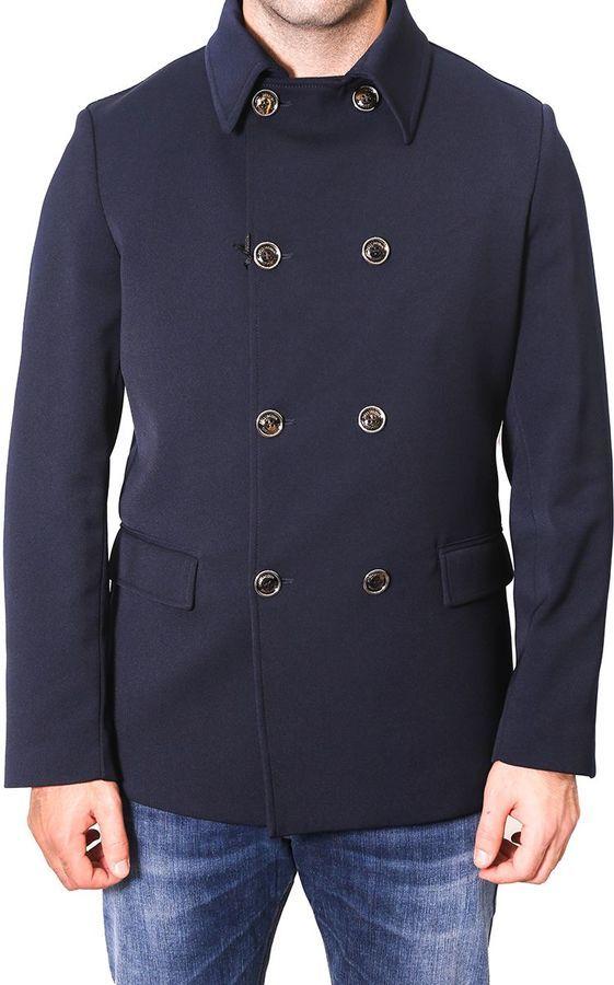 Alessandro Dell'Acqua Double-breasted Short Coat