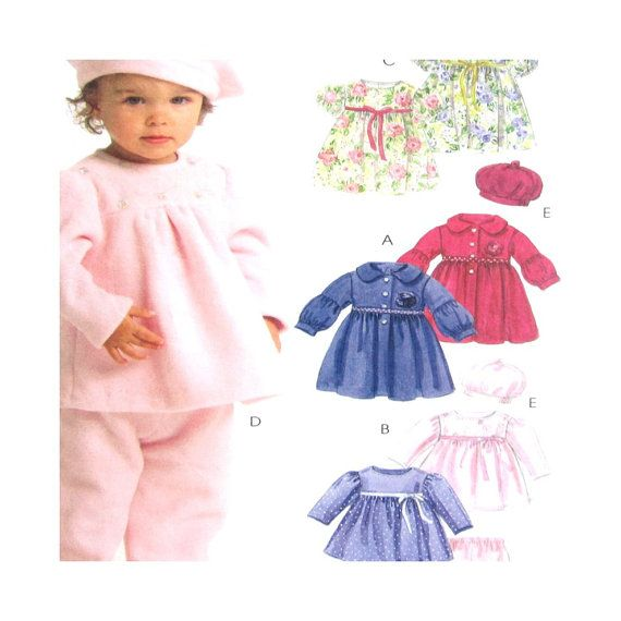 Uncut Pattern McCalls M5739 Infant's Girls by SadieBellsCrafts, $4.89