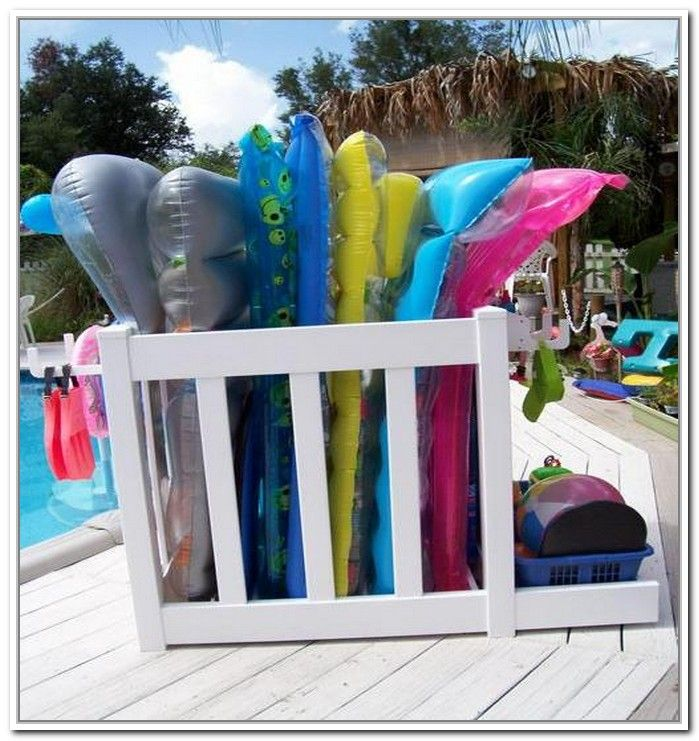 Pool Toy Storage Ideas 15 smart versatile toy storage ideas 15 photos Pool Float Storage Unit