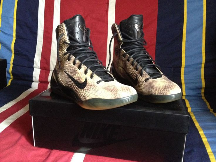The Snakeskin Nike Kobe 9 Hi EXT is Releasing | Sole Collector