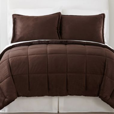 JCPenney Home Mink Solid Comforter Set - JCPenney