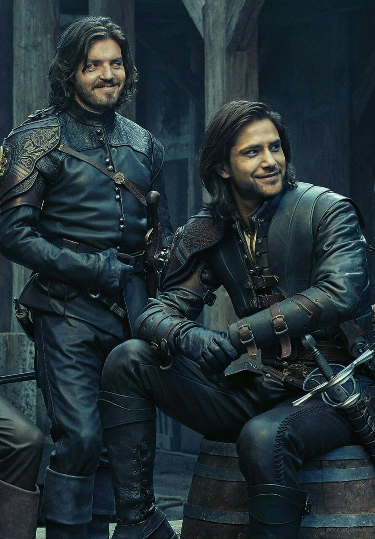 What? Athos is smiling?!?!?