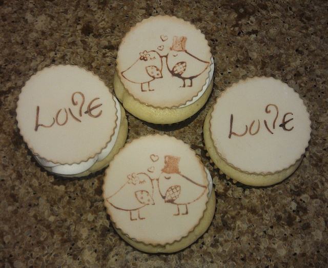 Bridal Shower cupcake toppers by mick6799, via Flickr