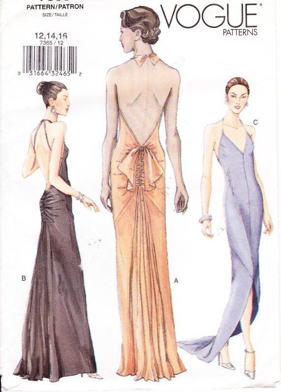 Red Carpet Dress Vintage Sewing Vintage Dress