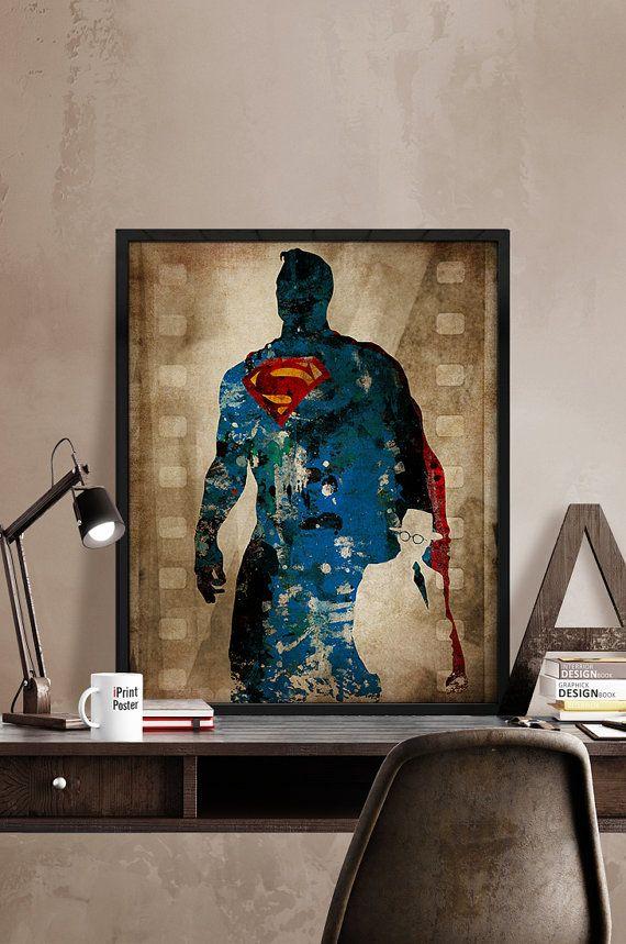 Superman DC Comics poster Superman posterSuperhero by iPrintPoster