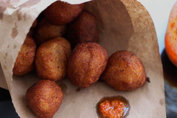 beignets de manioc