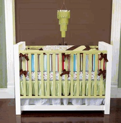 Cute colors- for a boy or a girl :):  Cots, Polka Dots, Cribs Sets, Caden Lane, Baby Beds, Cribs Beds, Baby Boys, Avery Cribs, Beds Sets