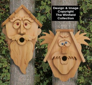 Cedar Men Birdhouse Patterns