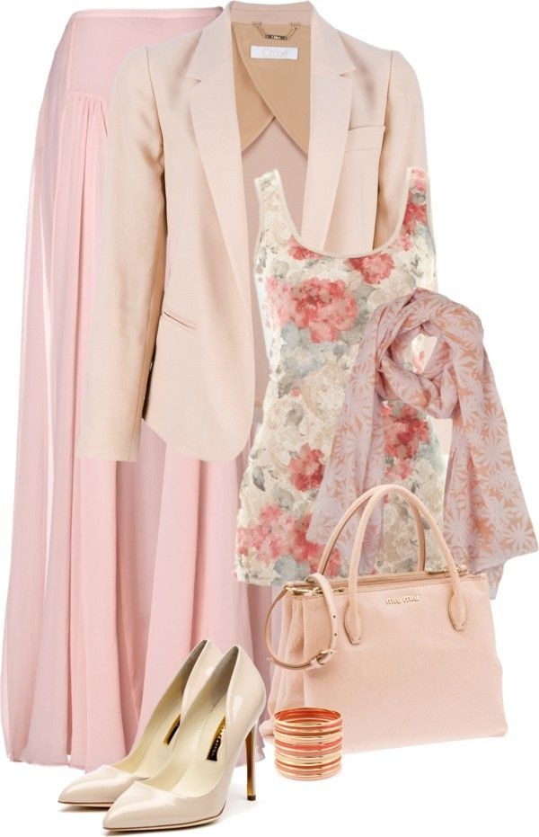 Hijab Fashion 2016/2017: hijab chic #1 by intan-indie  liked on Polyvore