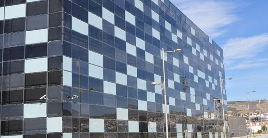 Onyx Solar Photovoltaic Ventilated Façade for integrate as a building second skin