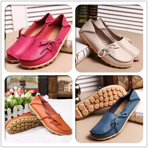 ONLY $13.40  Hot-sale Big Size Pure Color Slip On Lace Up Soft Sole Comfortable Flat Loafers - NewChic    |flats | flats shoes| flats outfit| flats shoes outfit | flats| flats stomach flats shoes flats belly fall flats flats outfit flats tummy ballet flats flats iron cute flats|