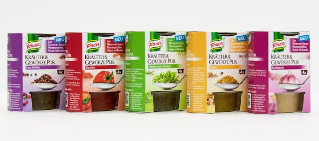 Knorr Flavour Pots on Packaging of the World - Creative Package Design Gallery