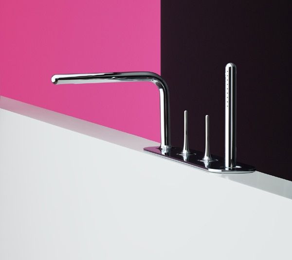 BagnoIdea.com - Rubinetteria bordo vasca Fluide - Miscelatori e rubinetti vasca da bagno ST Rubinetterie