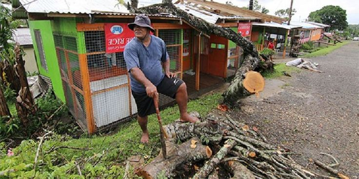 Fiji began a massive cleanup on Monday after one of the most powerful storms recorded in the southern hemisphere tore through the Pacific island nation, killing 21 people, flattening remote villages and cutting off communications. Aid agencies warned of a widespread health crisis, particularly in low-lying areas where thousands of Fiji's 900,000 people live in tin shacks, after crops were wiped out and fresh water supplies blocked. The Fiji Broadcasting Corp, quoting the country's National…