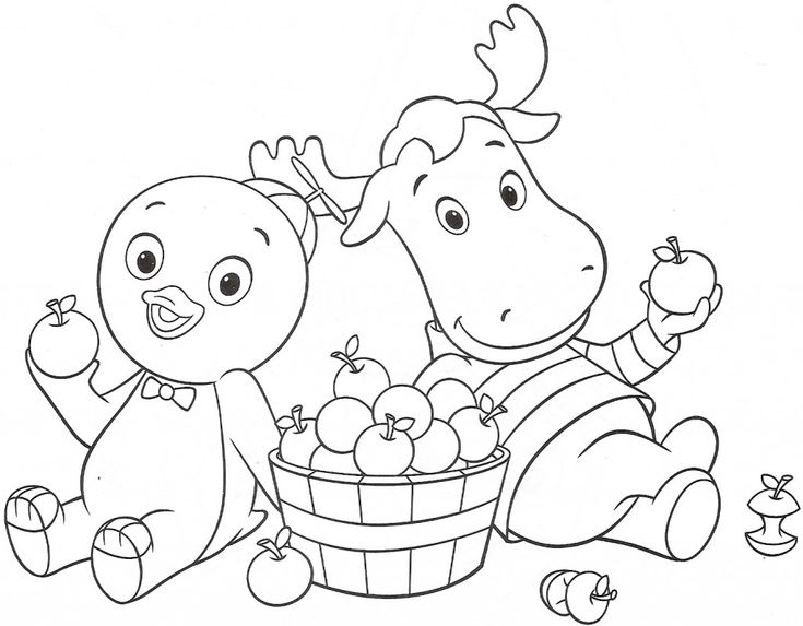1531 best kids coloring images on pinterest | coloring sheets ... - Backyardigans Coloring Pages Print
