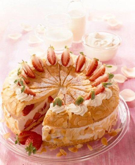 Kraljevska torta od jagoda