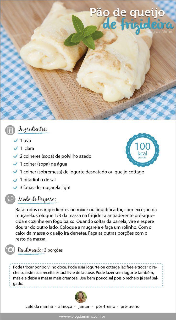 Pão de queijo de frigideira: