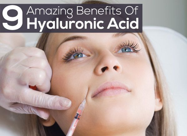 9 Amazing Benefits Of Hyaluronic Acid For Skin Care