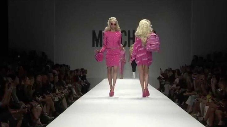 Ojalá la vida fuese tan divertida! Moschino Fashion Show