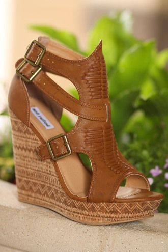 72b2f6208f Light Like A Feather Aztec Printed Wedges (Tan) | Wedges in 2019 ...