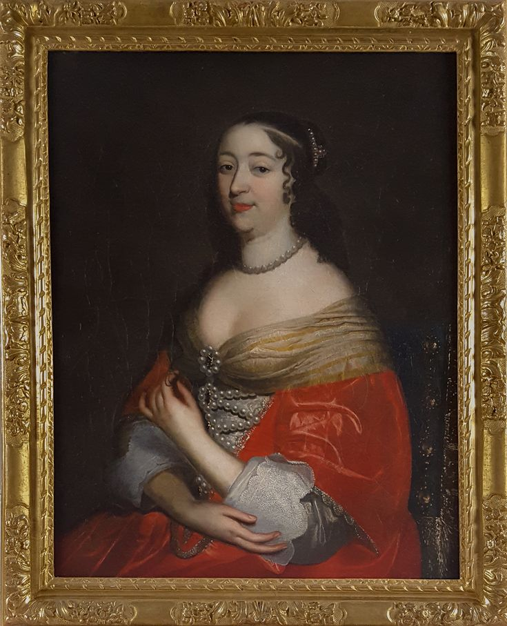 Portrait Of A Noblewoman, French C.1660; Studio Of Charles