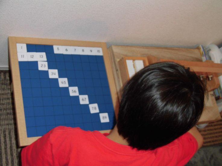 【100並べ】100までの連続数 モンテッソーリ算数教具 | そらいあんぐる