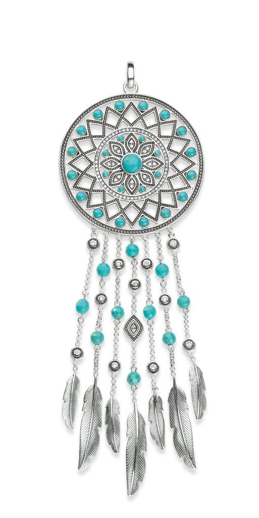 329917974 Floralesque Thomas Sabo Dreamcatcher and Festival Love Bridge Collections |  biżuteria | Pinterest | Dream catcher, Thomas sabo and Love