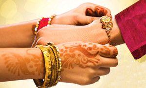 "History And Importance Of Raksha Bandhan send rakhi to india, online rakhi india, send online rakhi Chandan Rudraksh Rakhi Rs. 251.00 Raksha Bandhan literally means ""the tie or knot of protection"".  #send-rakhi-in-india-online"