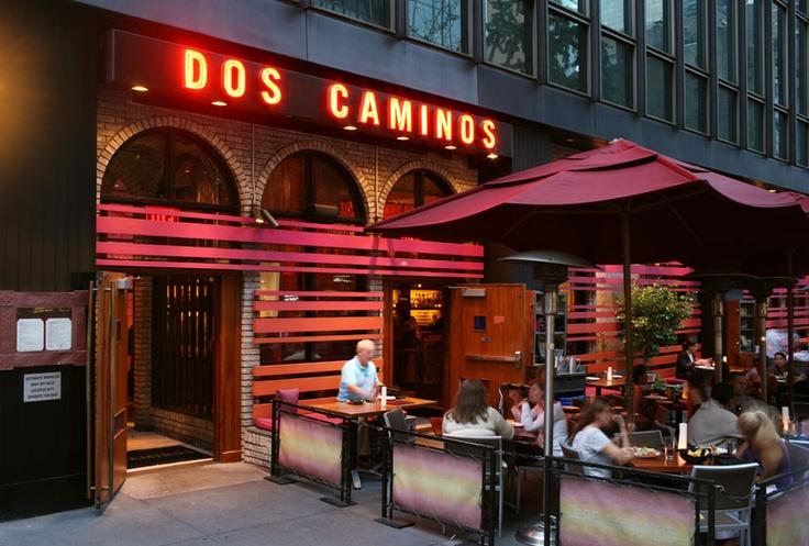Dos Caminos restaurant interiors at Third Avenue New York  Love their brunch!