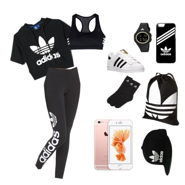 Back to school outfit  2 by mylifeasagirl10   liked on Polyvore featuring  Topshop  adidas 7fa189884f6