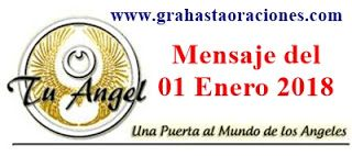01 de Enero - Mensaje de tu ANGEL DEL DIA DE HOY