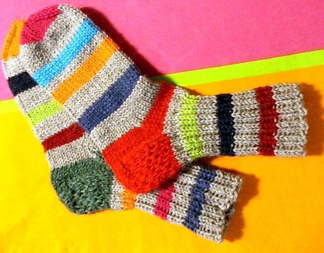 TOKA Designs villasukat ;) Woollen socks by TOKA Designs (= me ;) )