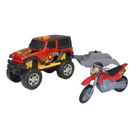 Road To Christmas  2020 Trailer Adventure Force Light & Sound Off Road Trailer, Ford Raptor 37