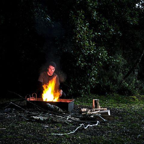 he starts a good fire 🔥