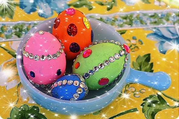 This is a good one for kids to decorate. And a way to help them learn about Imperial Eggs/Carl Faberge if you wanted to.