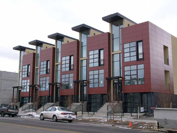 Modern Rowhouses Skyscraperpage Forum Ideas For Work